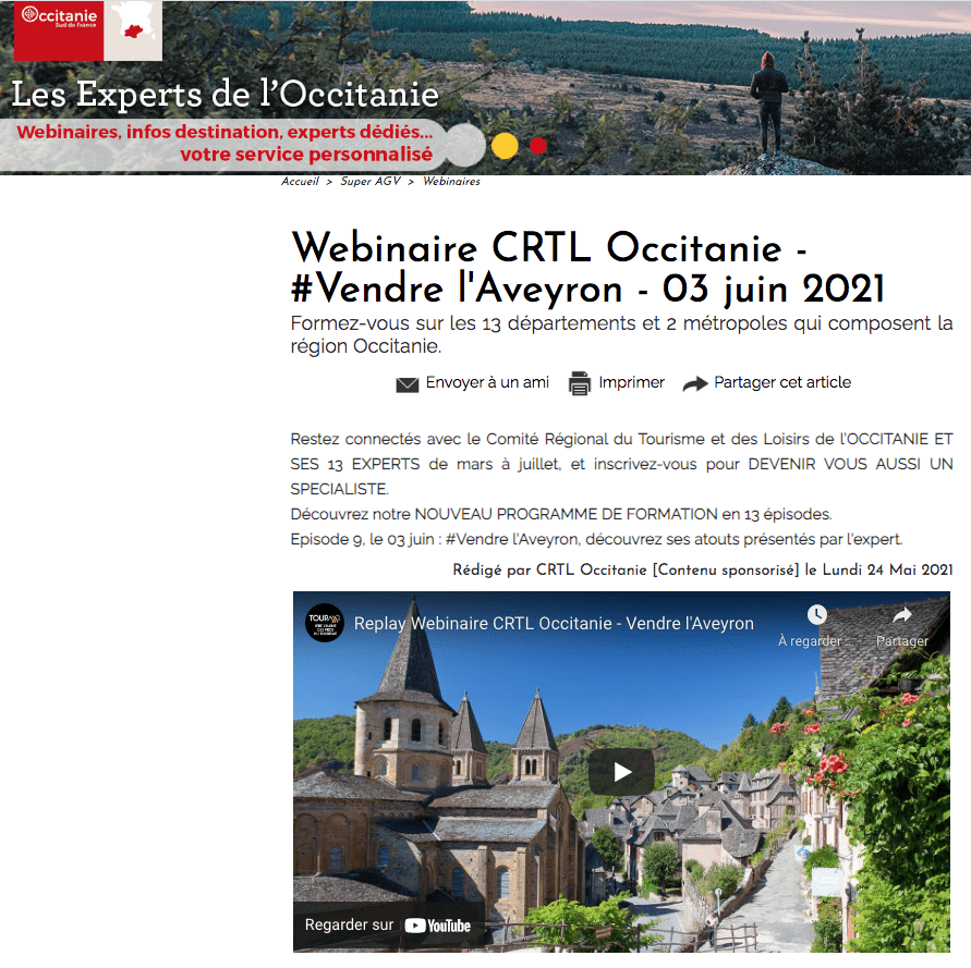 Visuel Aveyron Tourmag