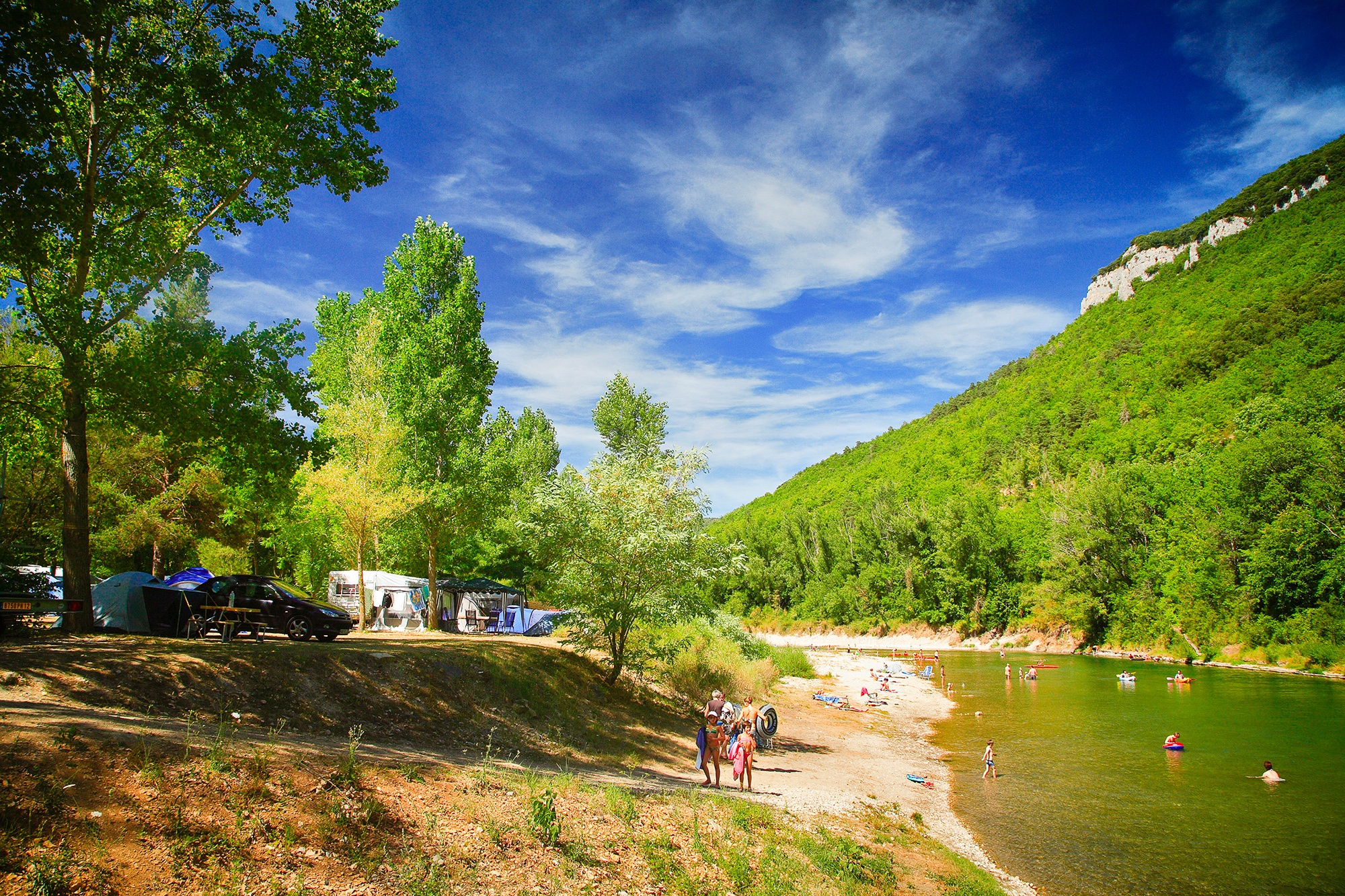 Camping-dans-les-gorges-du-Tarn